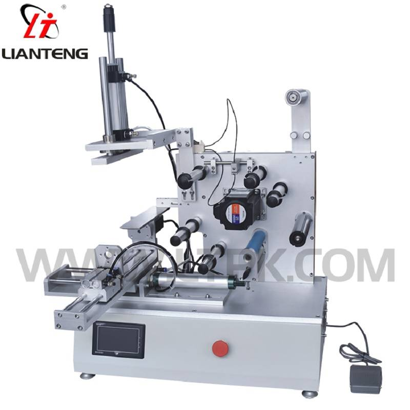 LT-61 Flattening label machine