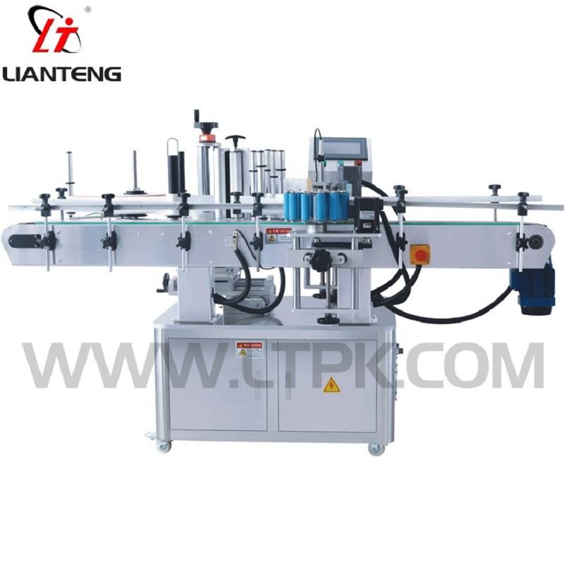 Rotary labeling machine
