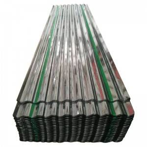 Galvanized tile