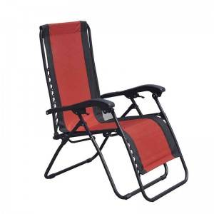 Conventional Zero Gravity Chair without Pillow