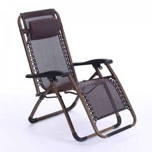 Luxurious square tube Zero Gravity Chair with special Fabric
