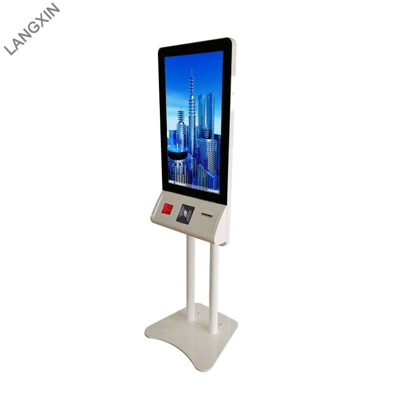 32 inch Capacitive Touch Screen Self Ordering Kiosk in Restaurant