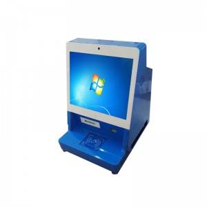 19inch Touch Screen Desktop Self-Registration Visitor Management Kiosk