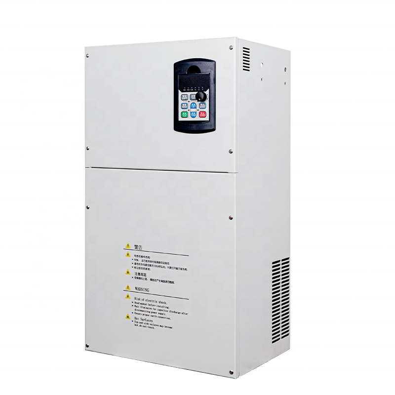 380V AC Three Phase 90KW Frequency Converter 50hz to 60hz Inverter