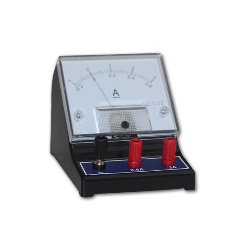 DC Current Meter student analog meter