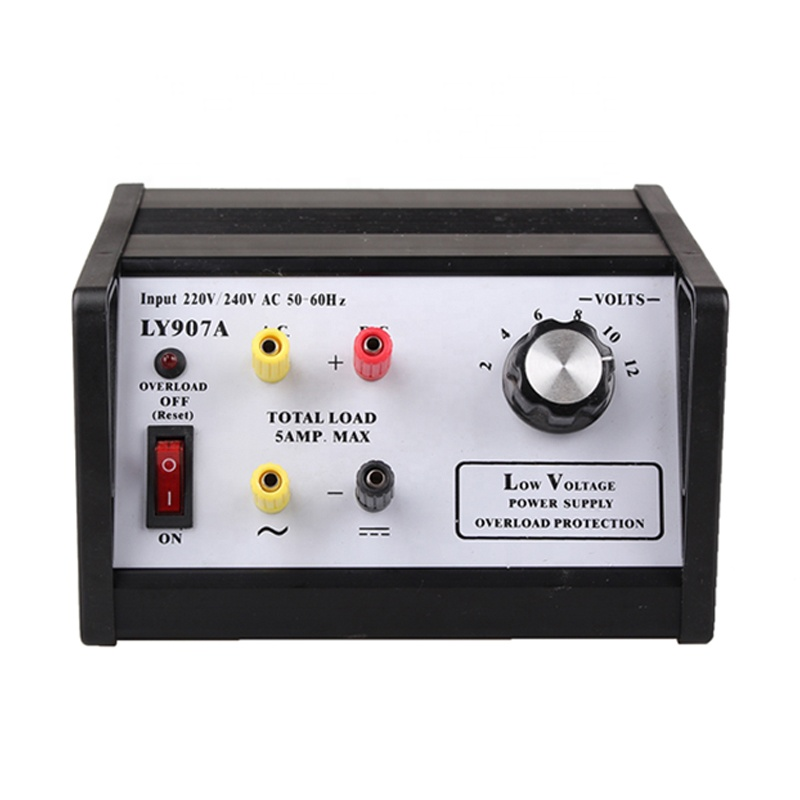 LY907A high quality 12V 5A a/ dc regulated power supply with overload protect
