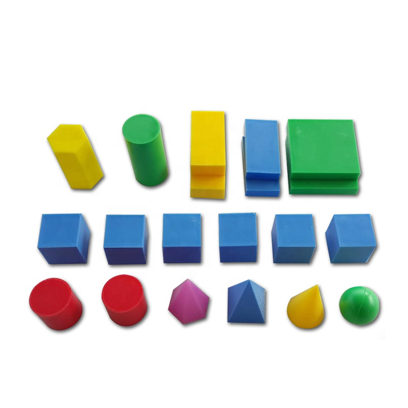 Solids Geometry Model instruments wooden toys
