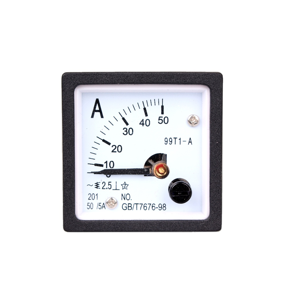 China Analog 48*48mm AC Ammeter Analog Panel Meter