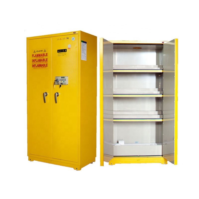 LY-DPG01 Flammable Chemical Storage Cabinet with Yellow Color
