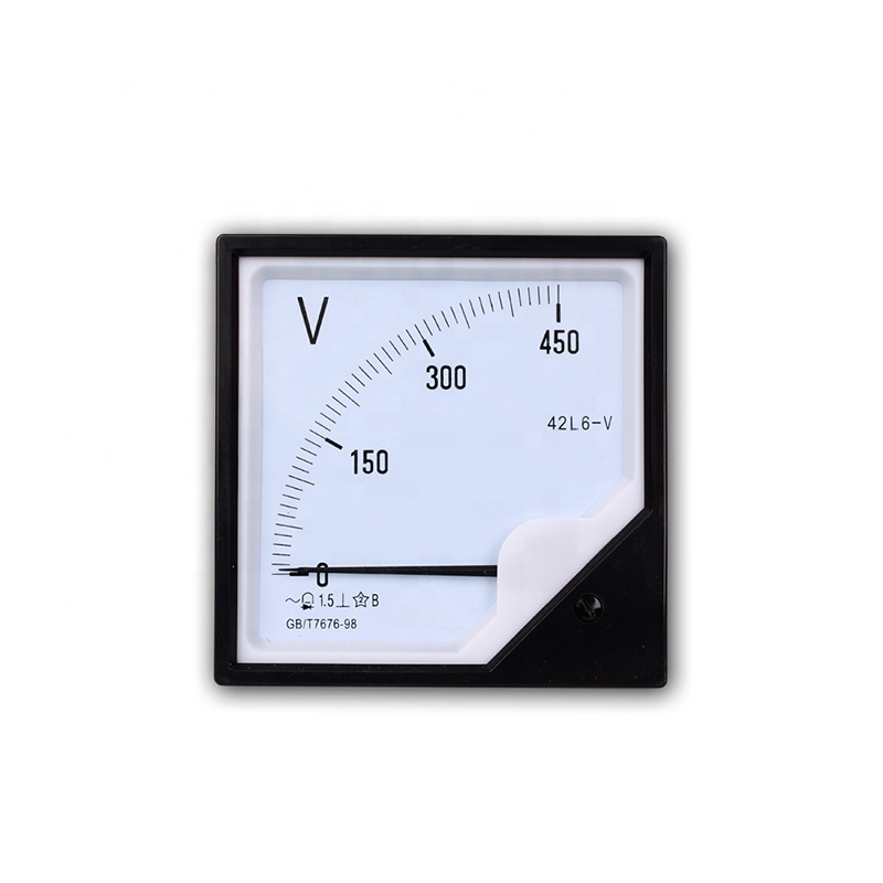 Panel Volt Meters Analog AC Voltmeter 120*120 0-450V