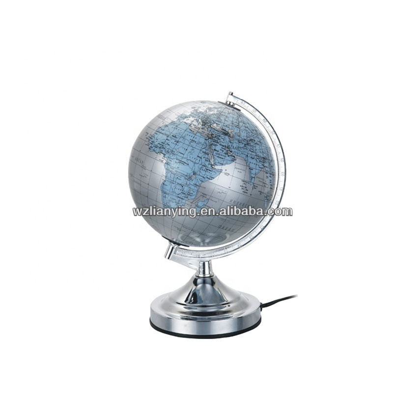 Japanese Arabic Turkey English German Latin French Russian Spanish world globes With lamp student