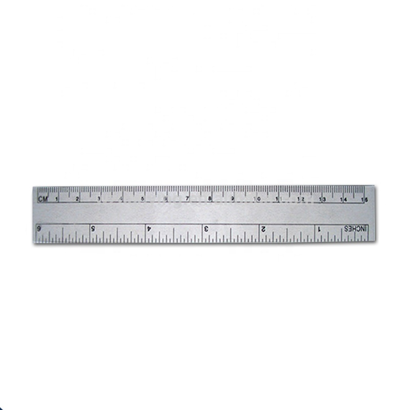 PVC Ruler for metrical instrument/teaching instrument