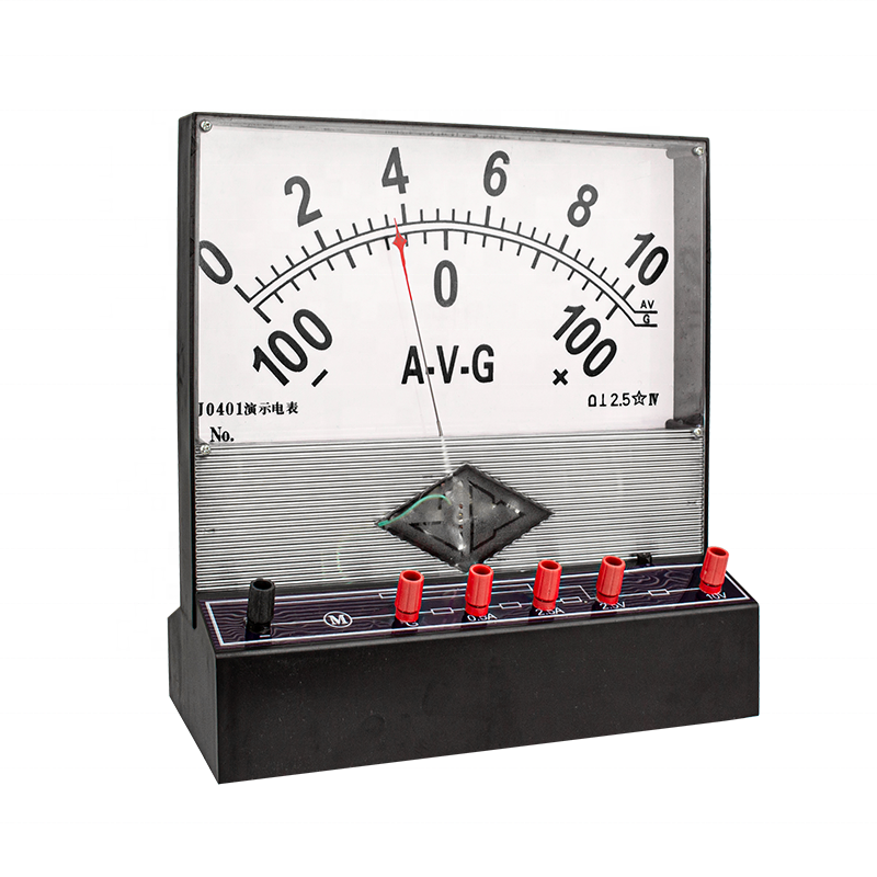 Panel 2.5 grades analog dc pointer amps Ammeter