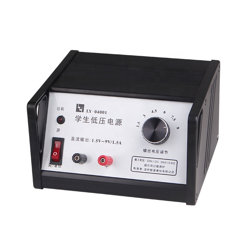 Regulated Lab 1.5a multi output dc 9v power supply