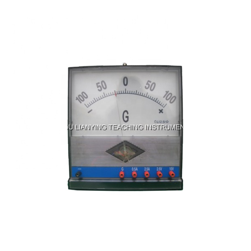 Lab demonstrating cuurent-voltmeter