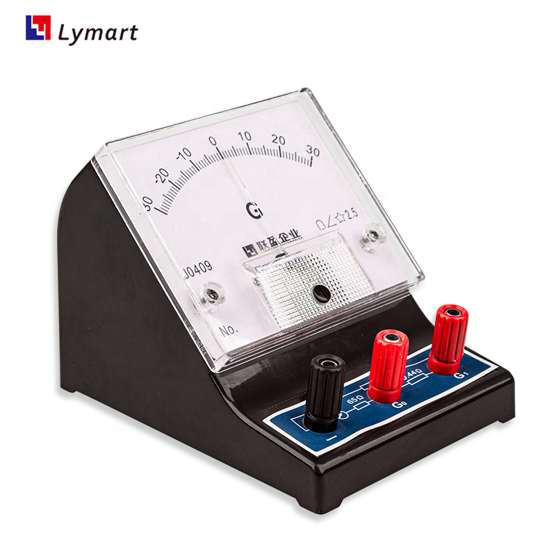 300ua dc sensitive analog galvanometer for physics