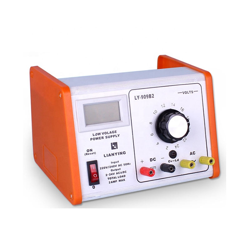 Lab power supply for teaching used in school laboratory
