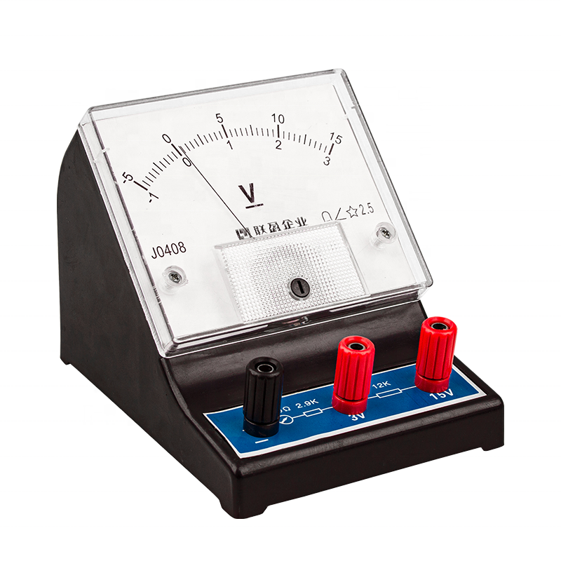 analog dc current analog meter electric voltmeter