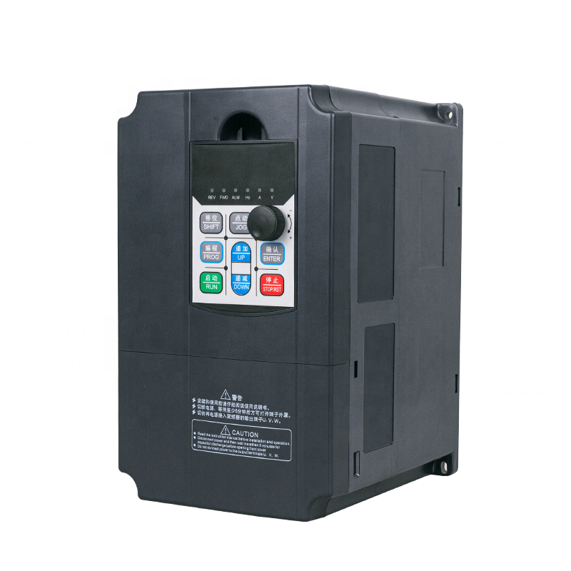 50hz to 60hz 5.5kw inverter 380v ac 3 phase frequency converter