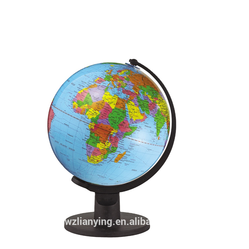 2020 Latest 30cm Cheap Plastic Political Globe in French