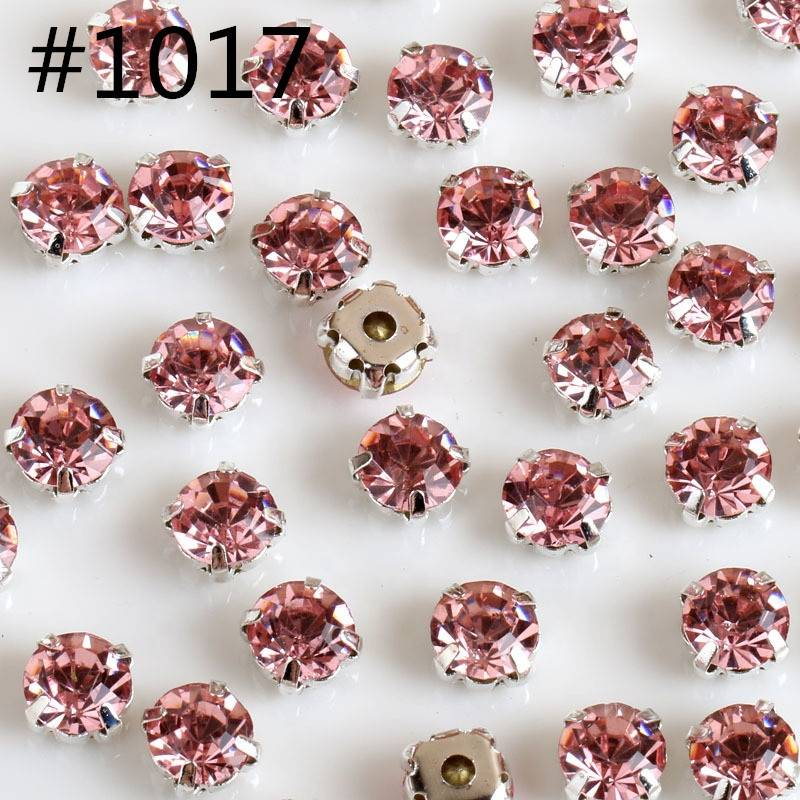 Bulk Crystal Sew on Colorful Rhinestones with Claw For Shoes Accessories Featured Image