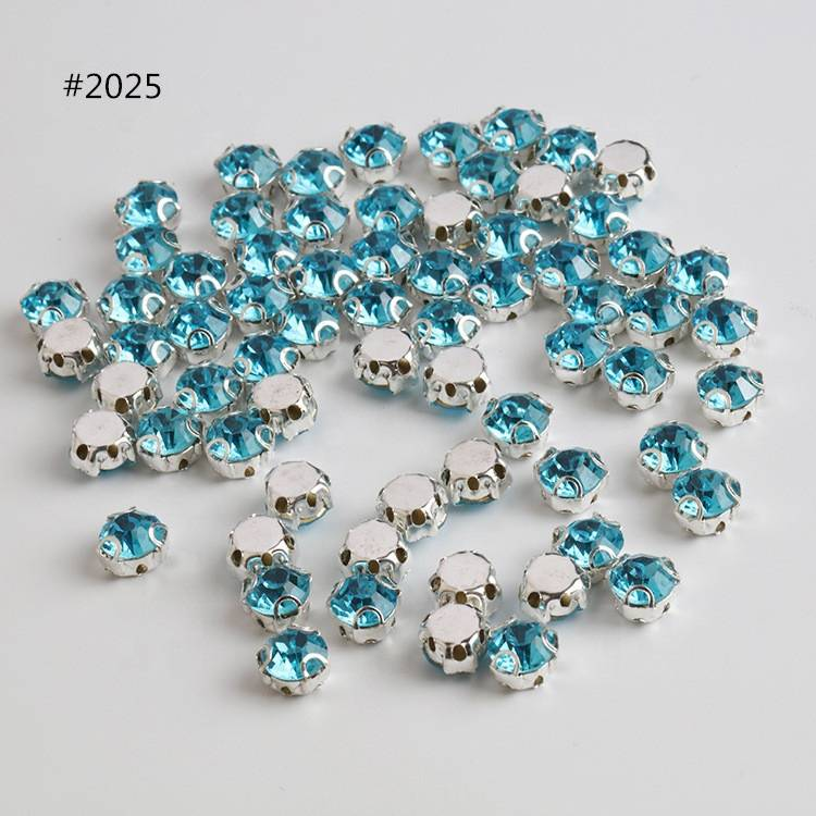Wholesale Best Quality Glass Sew on Crystal Rhinestone