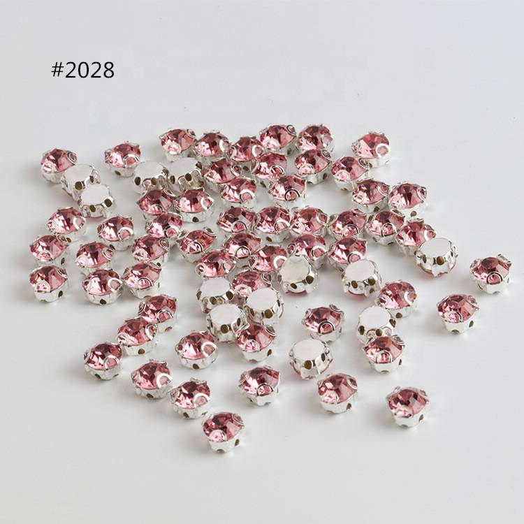 Bulk Sew on Rhinestone 3D Claw Stone for Shoes