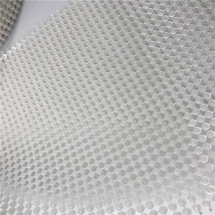 Popular Plastic Rhinestone Mesh Ribbon Decorative Pearl Round