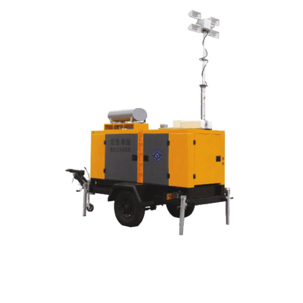 Mamo Power Trailer Mobile Lighting Tower