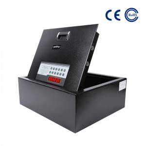 New Fashion Design for Keys Wall Mounted Hotel Key Box - Hotel Top Opening Safe With LED Display K-FGM600 – Mdesafe
