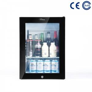 Glass Door Hotel Mini Bar Fridge Professional Hotel Mini Fridge M-30T