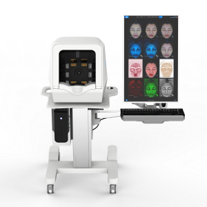 ISEMECO Portrait Screen Skin Scanner Analysis For Cosmetology Hospital