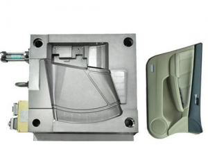 Plastic components in automobile doors