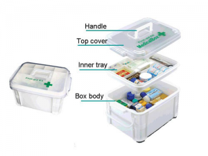 Plastic medical box injection molding