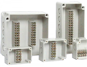 Electrical junction box and molding