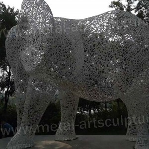 Large Outdoor Metal Sculpture for Garden