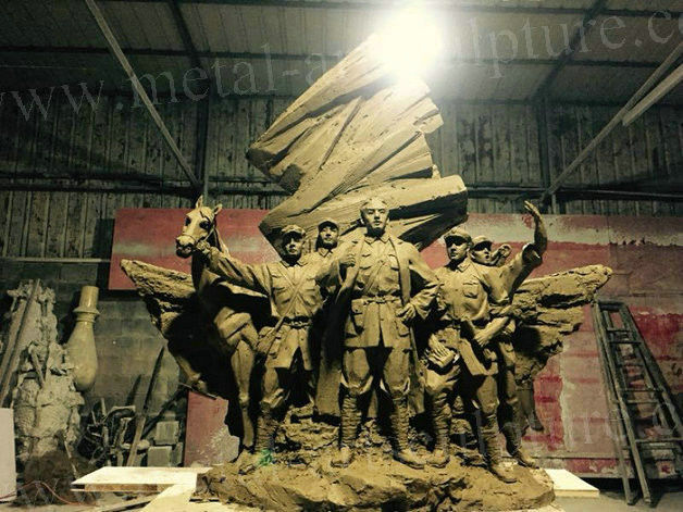 The Red Army Wall Relief Sculpture Royally Wall Decor Size Customized