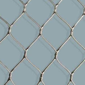 Stainless Steel Knotted Rope Mesh with Long Service Life