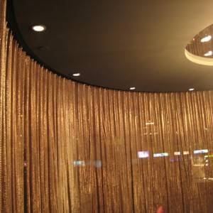 Scale Mesh Curtain for Space Divider and Interior Design