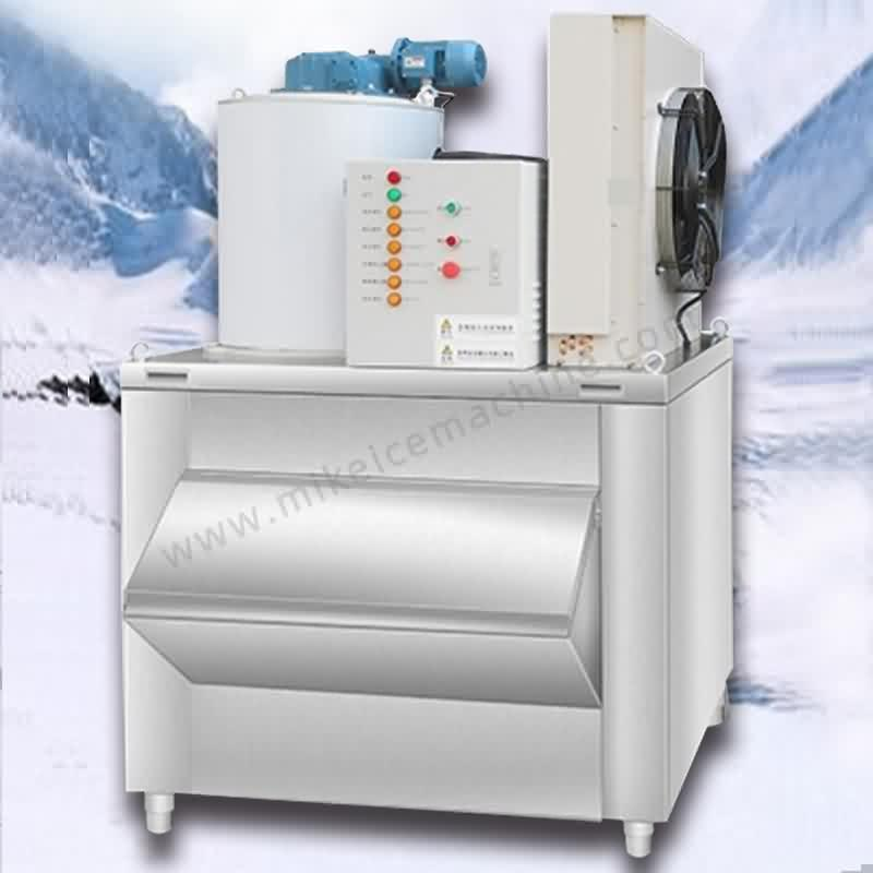 1000kg/day flake ice machine + 400kg ice storage bin. Featured Image