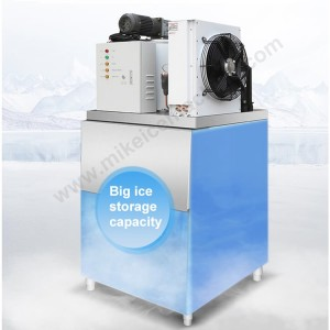 300kg/day flake ice machine + 150kg ice storage bin.