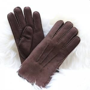 Classical handmade Sheepskin gloves for men