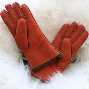 long style Ladies handstitiched Merino sheepkin gloves
