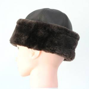 luxury nappa sheepskin hats