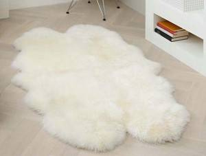 New Zealand/Australian long lamb wool fur carpet sofa cushion/sheepskin rug/pelt