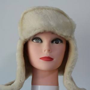 Sheepskin trapper winter hats