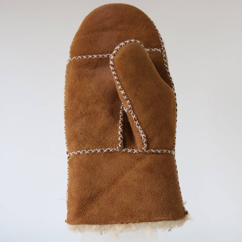 kids/childrens shearling sheepskin mittens Featured Image