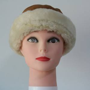 ladies luxury sheepskin hats