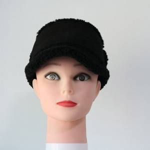 ladies sheepskin dressing stylish fashion hats