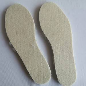 sheepskin shearling wool insole